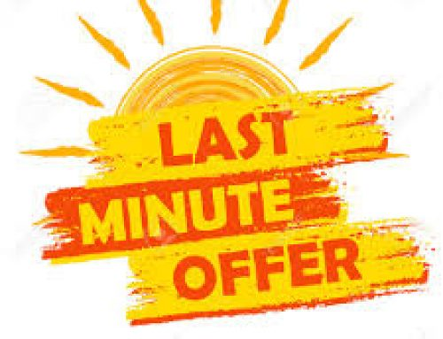 Special Offers & Late Availability
